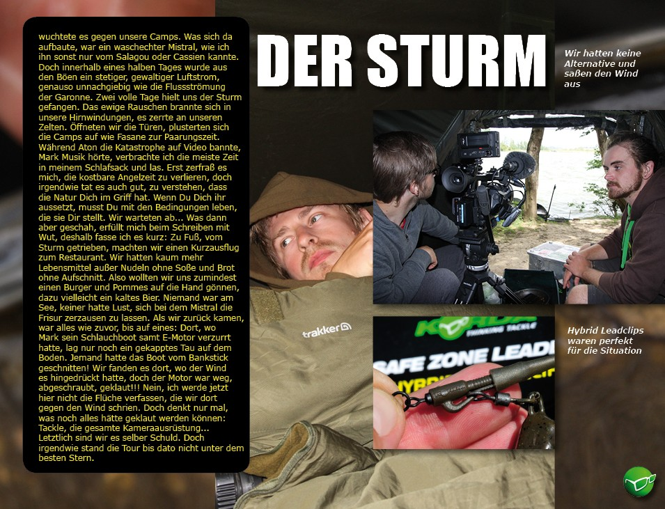 Keep the Spirit III - der Sturm