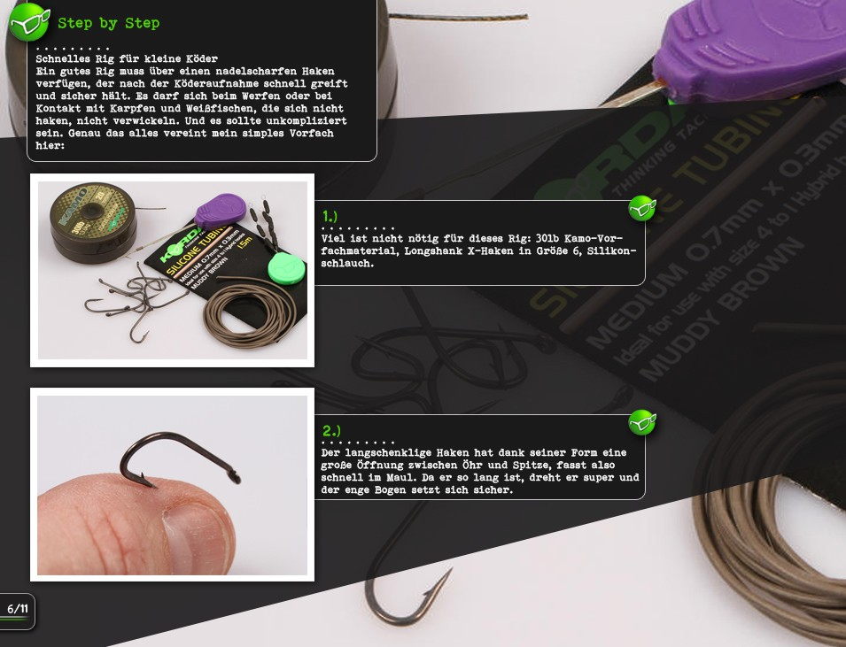 Korda Black and Whites Bobbins